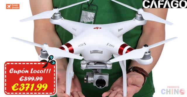 Sólo €371.99 para Cuadricóptero DJI Phantom 3 Standard RC Cafago