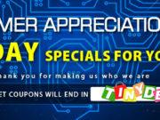 Tinydeal 3 dias Venta de apreciación del cliente