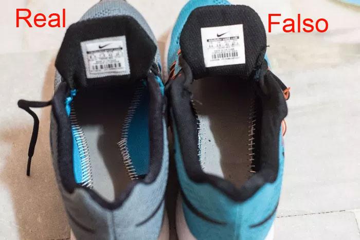 Zapatos Identificarlos Al Deportivos Y Nike Reales FalsosComo JFK1lTc