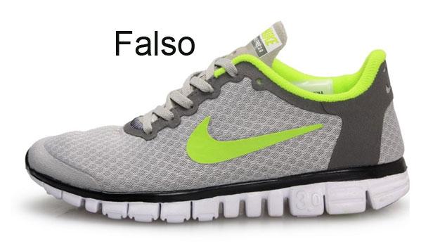 zapatillas nike falsos