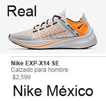 pistola Pedagogía corte largo  Zapatos deportivos Nike reales y falsos, como identificarlos al ...