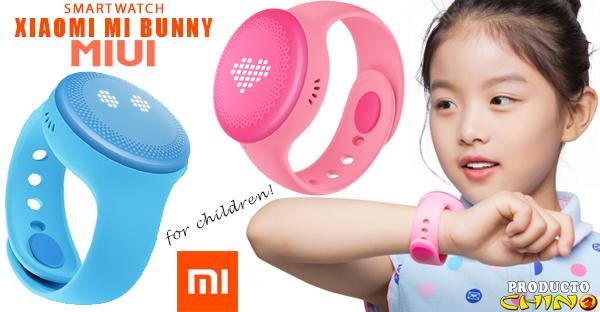 Xiaomi Mi Bunny el primer smartwatch para niños de Xiaomi
